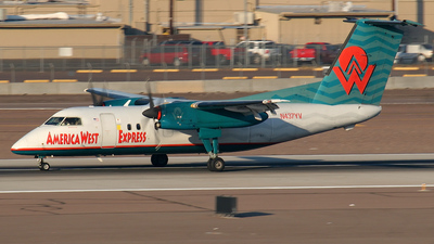 N437YV - Bombardier Dash 8-Q202 - America West Express (Mesa Airlines)