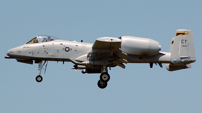 78-0643 - Fairchild A-10A Thunderbolt II - United States - US Air Force (USAF)