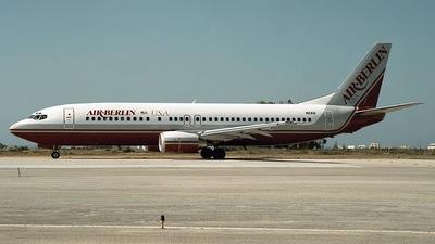N11AB - Boeing 737-4Y0 - Air Berlin USA
