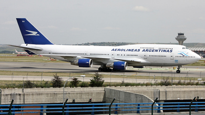 LV-BBU - Boeing 747-475 - Aerolíneas Argentinas