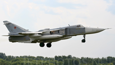 29 - Sukhoi Su-24MR Fencer - Russia - Air Force