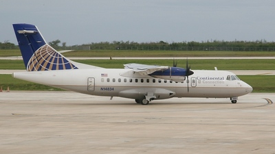 A picture of N14834 - ATR 42320 - [0193] - © RA-86017
