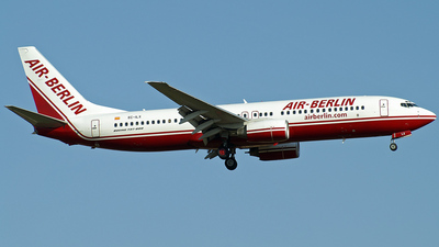 EC-ILX - Boeing 737-86N - Air Berlin (Visig Operaciones Aéreas)