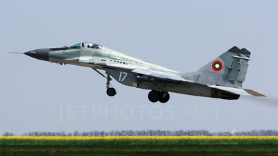 17 - Mikoyan-Gurevich MiG-29A Fulcrum - Bulgaria - Air Force