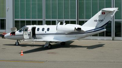 HB-VNP - Cessna 525 CitationJet 1 - Mathys Aviation