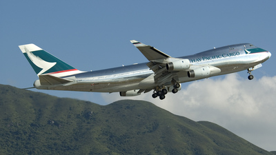 B-HUP - Boeing 747-467F(SCD) - Cathay Pacific Cargo