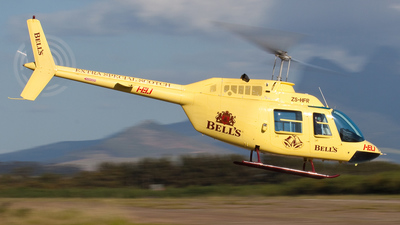 ZS-HFR - Bell 206B JetRanger II - Heli Aviation