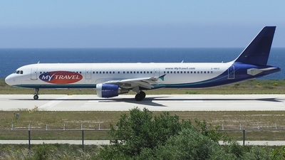 G-NIKO - Airbus A321-211 - MyTravel Airways