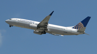 N33289 - Boeing 737-824 - Continental Airlines