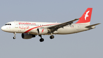 A6-ABB - Airbus A320-214 - Air Arabia