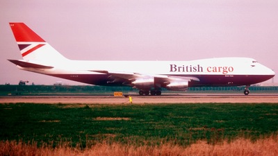 G-KILO - Boeing 747-236F(SCD) - British Airways Cargo