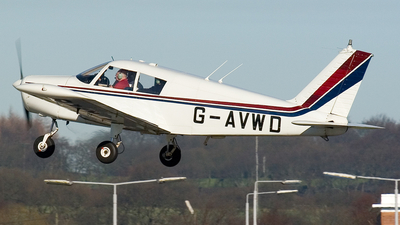 G-AVWD - Piper PA-28-140 Cherokee - Private