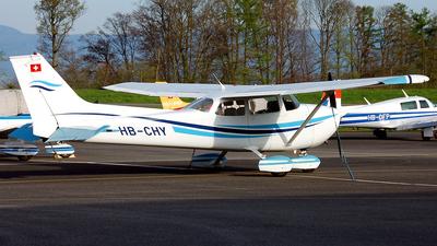A picture of HBCHY - Cessna F172M Skyhawk - [1063] - © Mirko Bleuer
