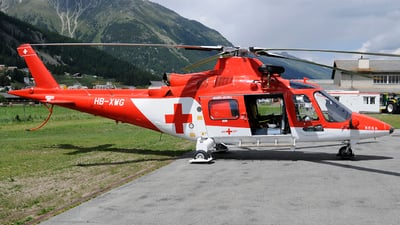 HB-XWG - Agusta A109K2 - REGA - Swiss Air Ambulance