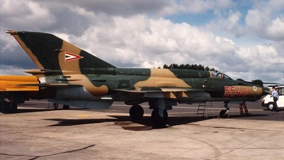 5540 - Mikoyan-Gurevich MiG-21bis Fishbed L - Hungary - Air Force