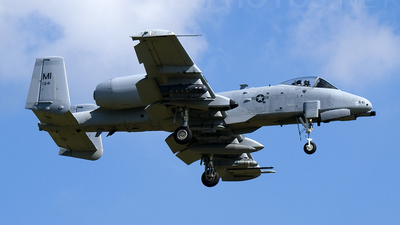 78-0641 - Fairchild A-10A Thunderbolt II - United States - US Air Force (USAF)