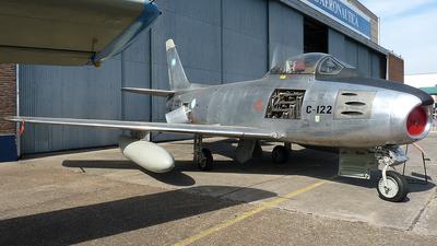 C-122 - North American F-86F Sabre - Argentina - Air Force
