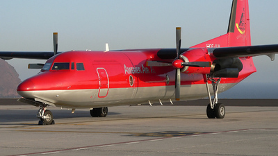 OE-ILW - Fokker F27-500 Friendship - Amerer Air