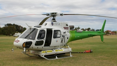 VH-WCX - Eurocopter AS 350B3 Ecureuil - Helicopters Australia