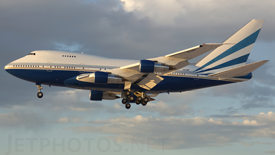 VQ-BMS - Boeing 747SP-21 - Las Vegas Sands Corporation