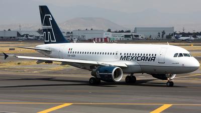 XA-UER - Airbus A319-112 - Mexicana