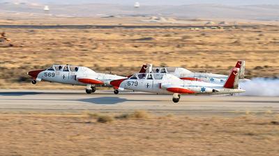 579 - Fouga CM-170 Tzukit - Israel - Air Force