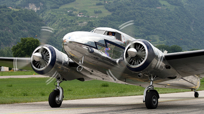 F-AZLL - Lockheed 12A Electra - Private