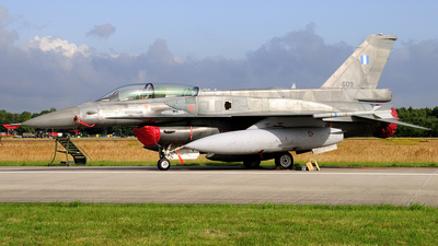 609 - Lockheed Martin F-16DJ Fighting Falcon - Greece - Air Force