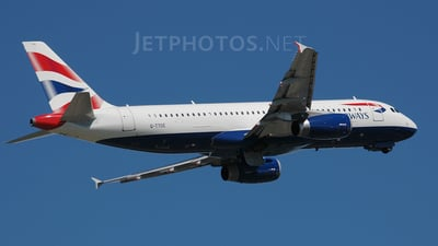G-TTOE - Airbus A320-232 - British Airways
