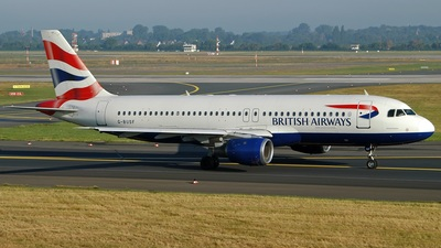 G-BUSF - Airbus A320-111 - British Airways