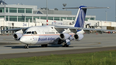 OO-DJG - British Aerospace BAe 146-200 - SN Brussels Airlines
