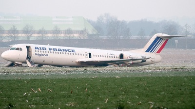 F-GMPG - Fokker 100 - Air France (Régional Compagnie Aerienne)