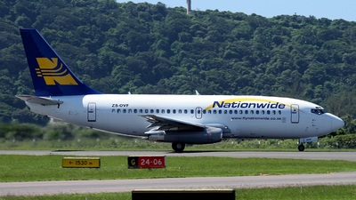 ZS-OVF - Boeing 737-228(Adv) - Nationwide Airlines