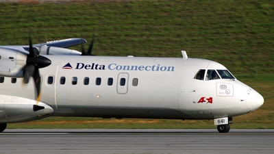 N641AS - ATR 72-212 - Delta Connection (Atlantic Southeast Airlines)