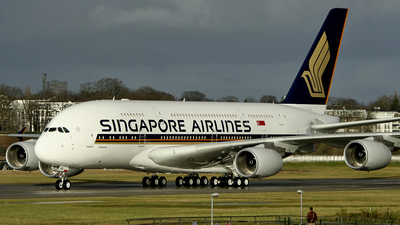 F-WWSB - Airbus A380-841 - Singapore Airlines