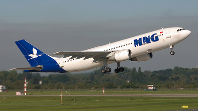 TC-MNE - Airbus A300B4-203 - MNG Airlines