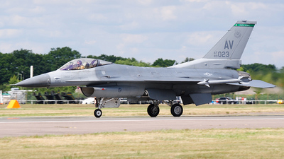 89-2023 - General Dynamics F-16CG Fighting Falcon - United States - US Air Force (USAF)