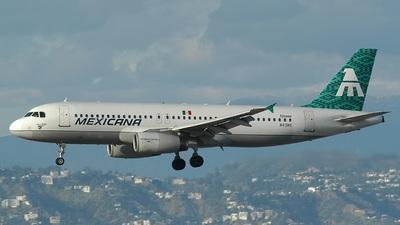 N415MX - Airbus A320-211 - Mexicana