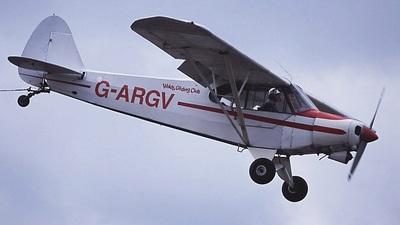 G-ARGV - Piper PA-18-150 Super Cub - Private