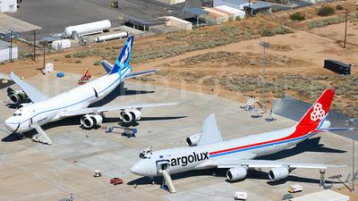 N5573S - Boeing 747-8R7F - Cargolux Airlines International