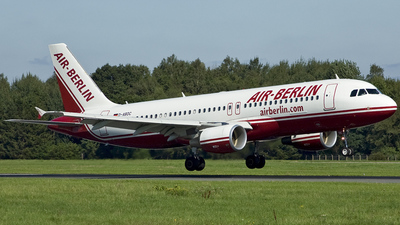 D-ABDC - Airbus A320-214 - Air Berlin