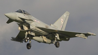 ZJ911 - Eurofighter Typhoon F.2 - United Kingdom - Royal Air Force (RAF)