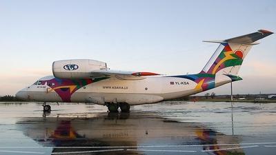YL-KSA - Antonov An-74-200 - KS Avia