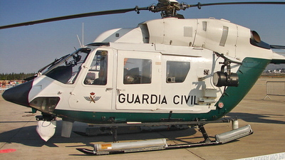 HU.22-08 - MBB BK117A-3 - Spain - Guardia Civil