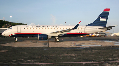N119HQ - Embraer 170-200LR - US Airways Express (Republic Airlines)
