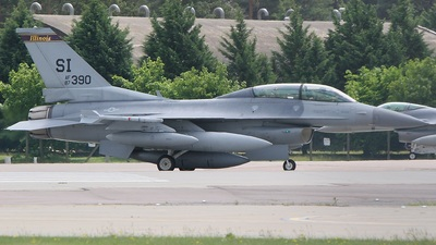 87-0390 - General Dynamics F-16D Fighting Falcon - United States - US Air Force (USAF)