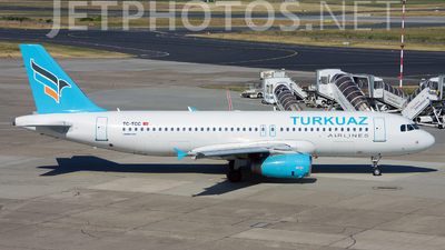 TC-TCC - Airbus A320-232 - Turkuaz Airlines