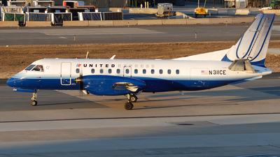N311CE - Saab 340B - United Express (Colgan Air)