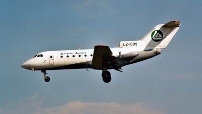 LZ-DOS - Yakovlev Yak-40 - Albanian Airlines (Hemus Air)