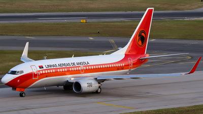 D2-TBF - Boeing 737-7M2 - TAAG Linhas Aéreas de Angola